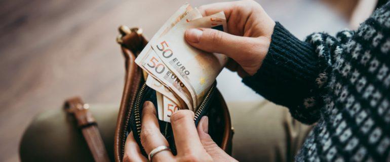 Geld-in-Geldboerse
