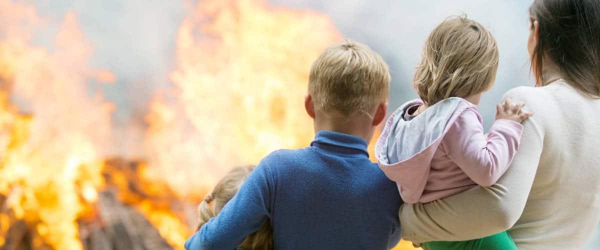 Wohnungsbrand - Rechte des Mieters & Pflichten des Vermieters