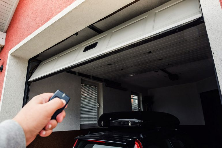 Garage öffnen