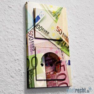 Steckdose Geldscheine Stromkosten