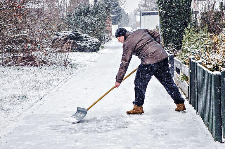 Winterdienst - Räumpflicht Schnee